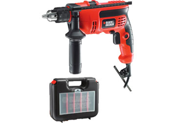 13mm Máy khoan 600W Black and Decker KR604REK