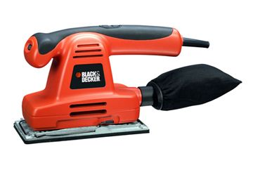 93mm x 230mm Máy chà nhám 220W Black and Decker KA197E