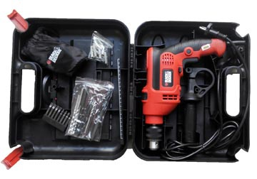 13mm Máy khoan 710W Black and Decker KR704REKP20